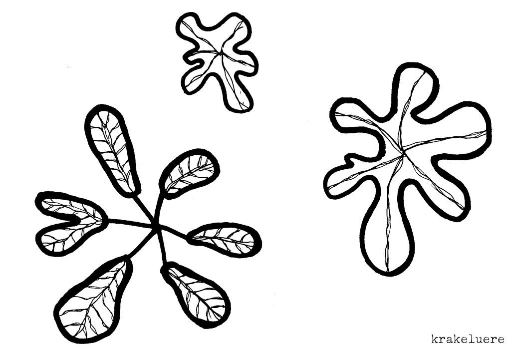 Kritzelei: Muster in s/w 6