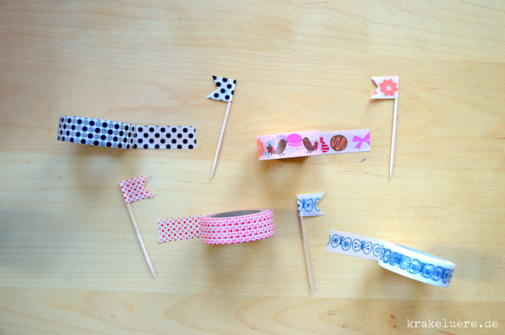 Fähnchen aus Masking Tape - krakeluere.de (2)