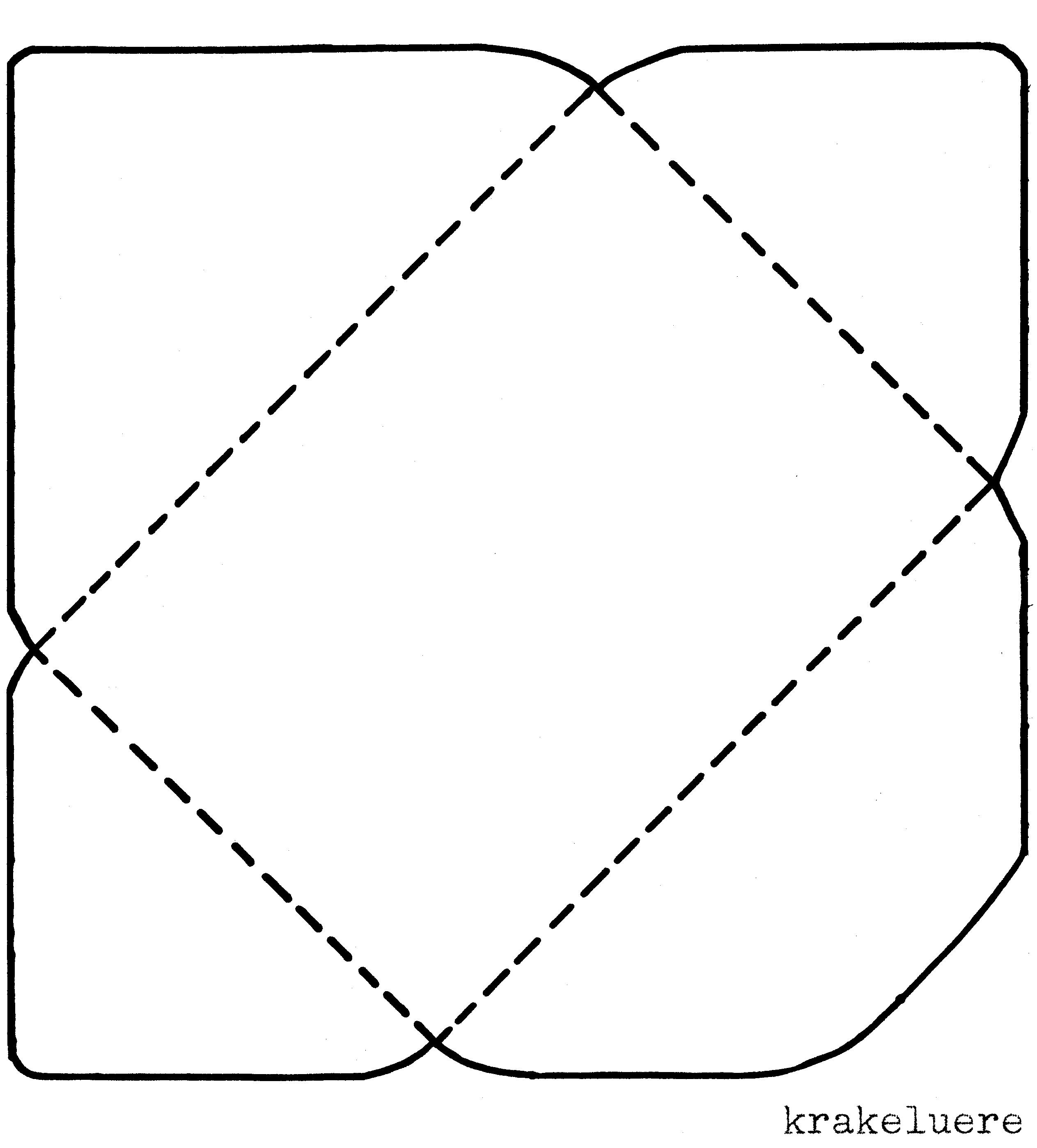 Briefe Falten Kleiner Umschlag : Krakeluere briefumschläge basteln