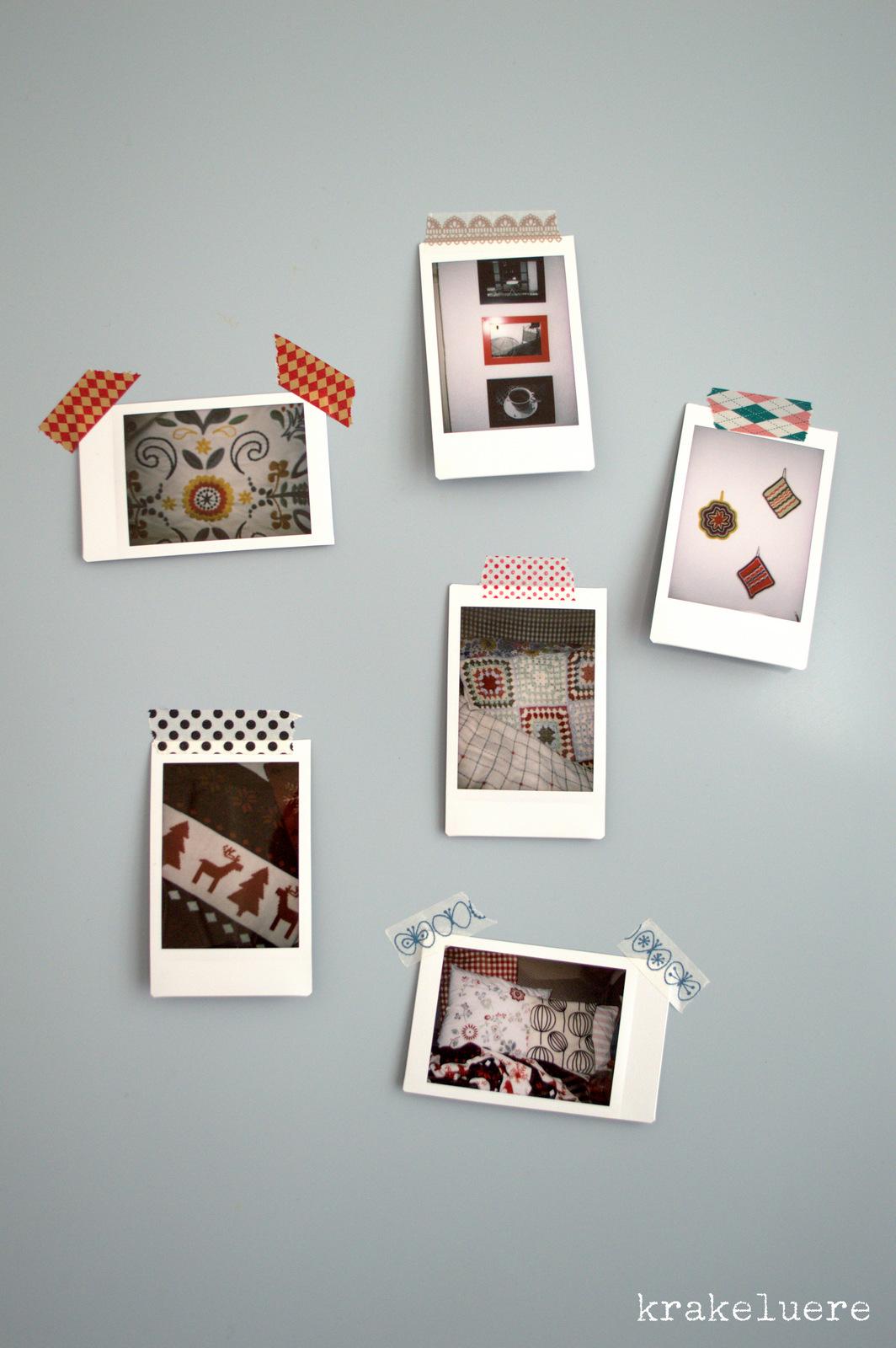 Kamera liebe for Polaroid fotos deko