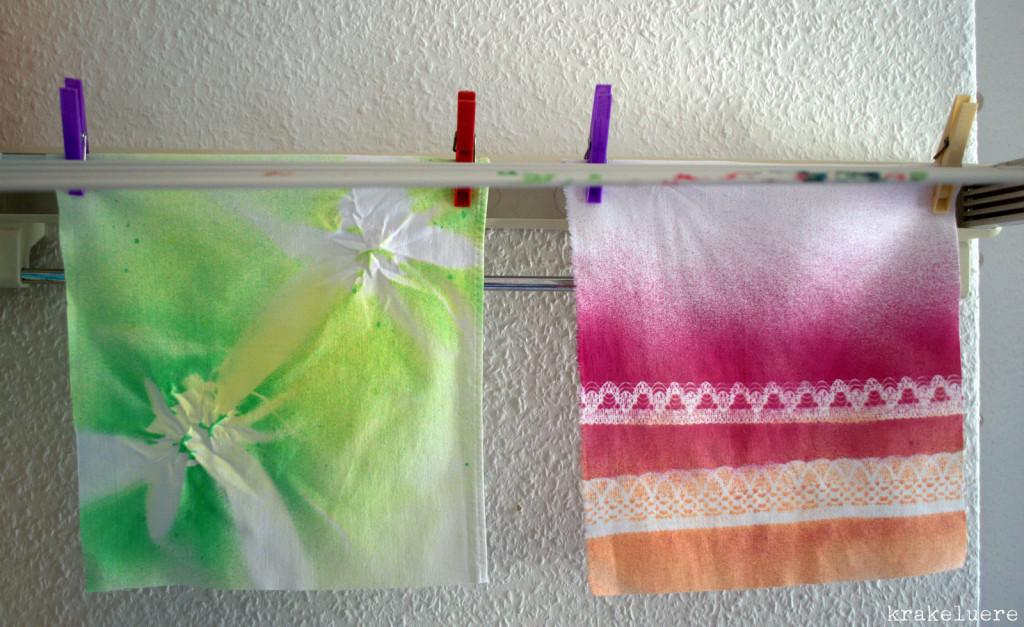 Experimente Textilsprühfarbe Marabu - krakeluere.de
