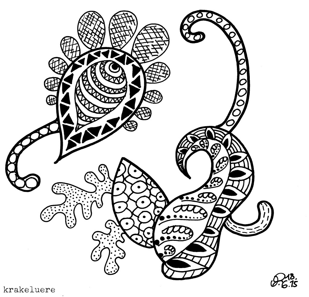 Zentangle - krakeluere.de
